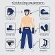 Sport Equipment for Kickboxing Martial Arts - GraphicRiver Item for Sale