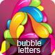 Bubble Letters - GraphicRiver Item for Sale