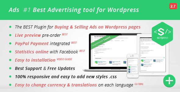 ADS - Modern WordPress Ad Plugin