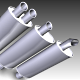 3 in 1 Exhaust pipe (Turbo+Sport+Standart) - 3DOcean Item for Sale