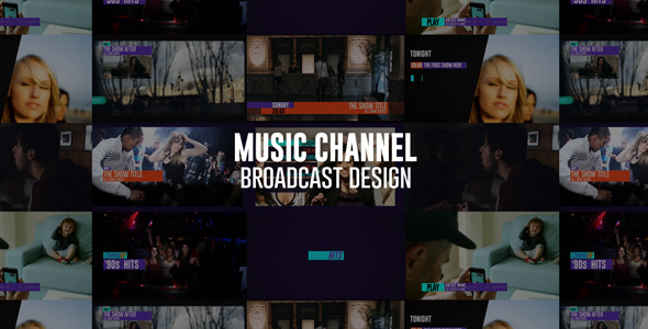 Music Channel Broadcast design