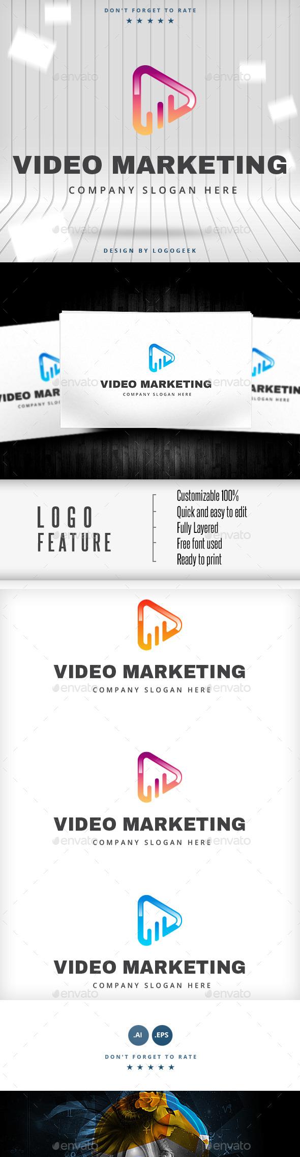 Video Marketing Logo