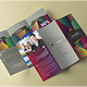 Polygonal Feel - Trifold Brochure - GraphicRiver Item for Sale