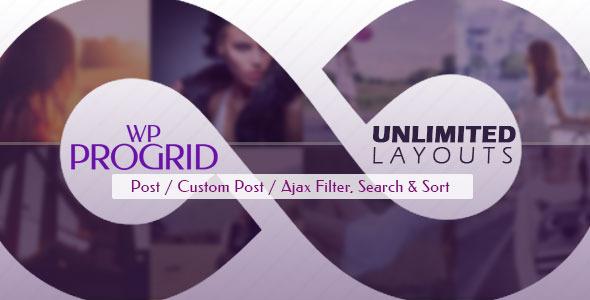 Pro Grid : Ajax Post, Custom Post Display + Filter Download