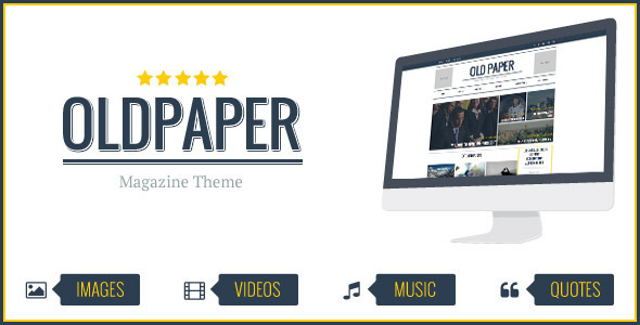 OldPaper – Ultimate Magazine & Blog Theme