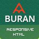 Buran - Smart Portfolio and Business HTML Template - ThemeForest Item for Sale
