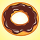 Coffee Donut - GraphicRiver Item for Sale