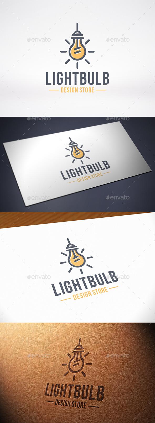 Idea Bulb Logo Template
