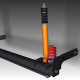 Rear suspension (Low Poly) - 3DOcean Item for Sale