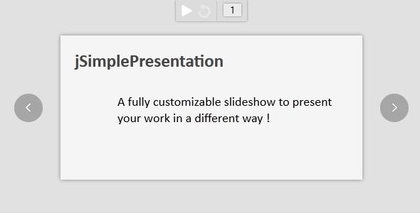 jSimplePresentation