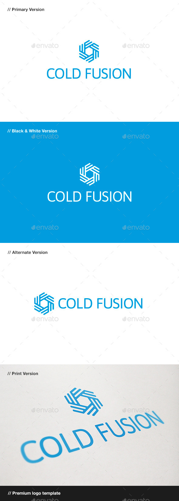 Cold Fusion - Symbol Logo