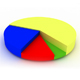 3D Rendered Pie Chart - GraphicRiver Item for Sale
