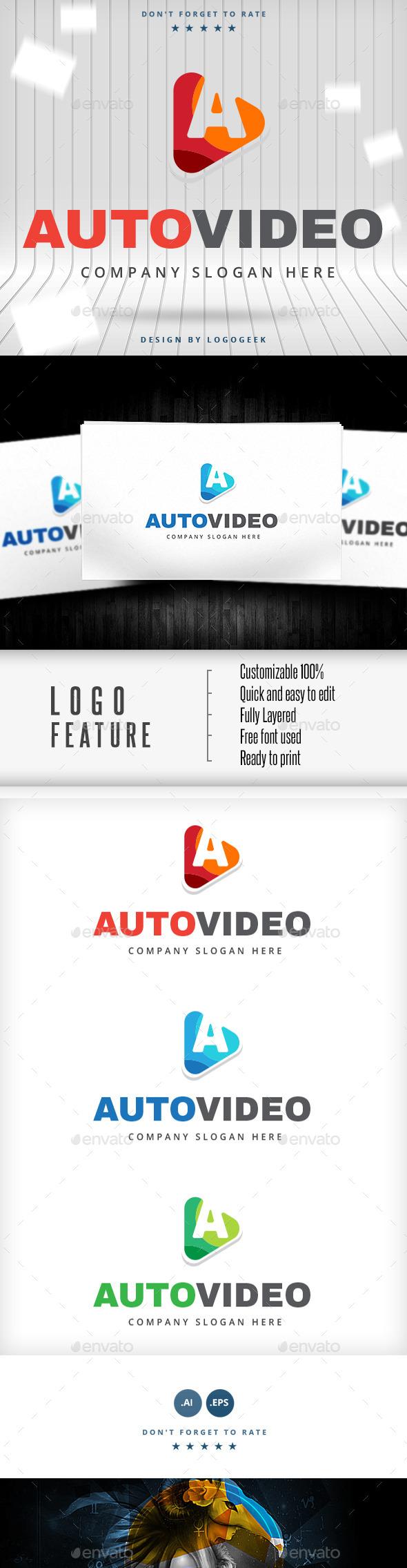 Auto Video Logo