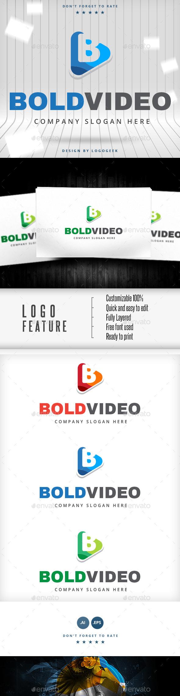 Bold Video Logo