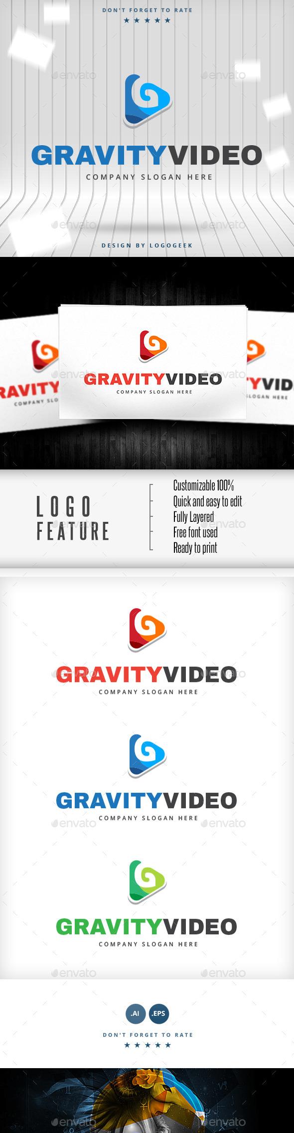 Gravity Video Logo