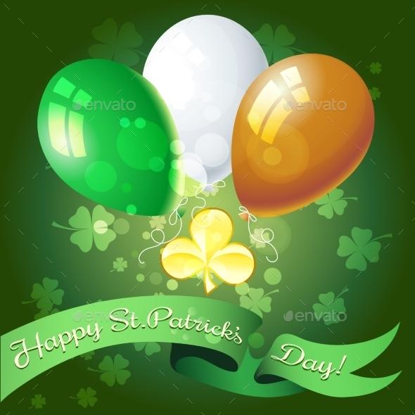 Saint Patricks Day Greeting Card
