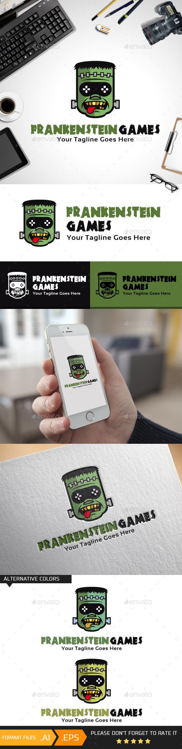 Frankenstein Games Logo