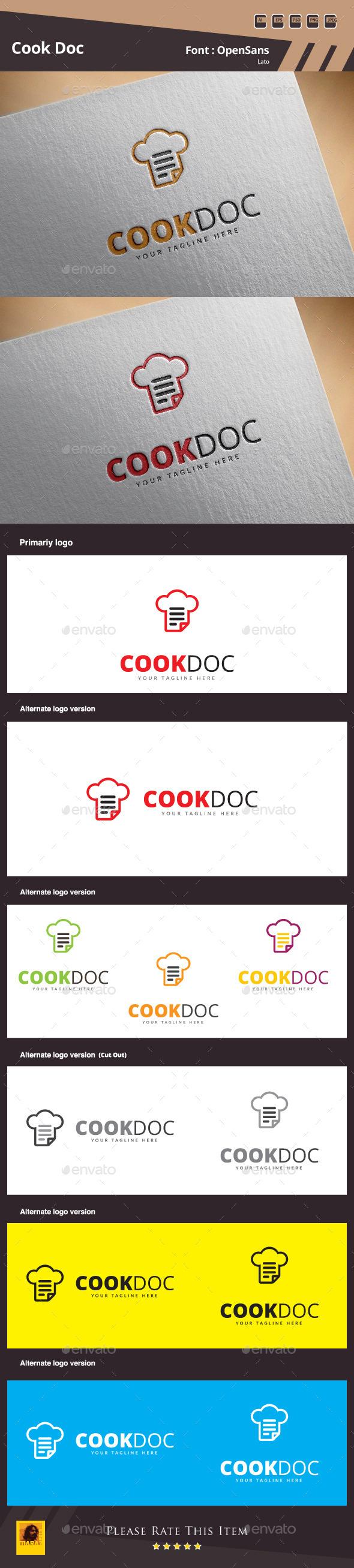 Cook Doc Logo Template