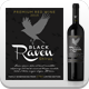 Red Wine Label Vector Template - GraphicRiver Item for Sale