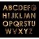 Gold Font - GraphicRiver Item for Sale