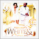 White and Gold Birthday Party - GraphicRiver Item for Sale