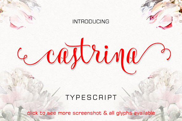 Wedding Script Fonts from GraphicRiver