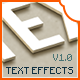 Text Effects V1.0 - GraphicRiver Item for Sale