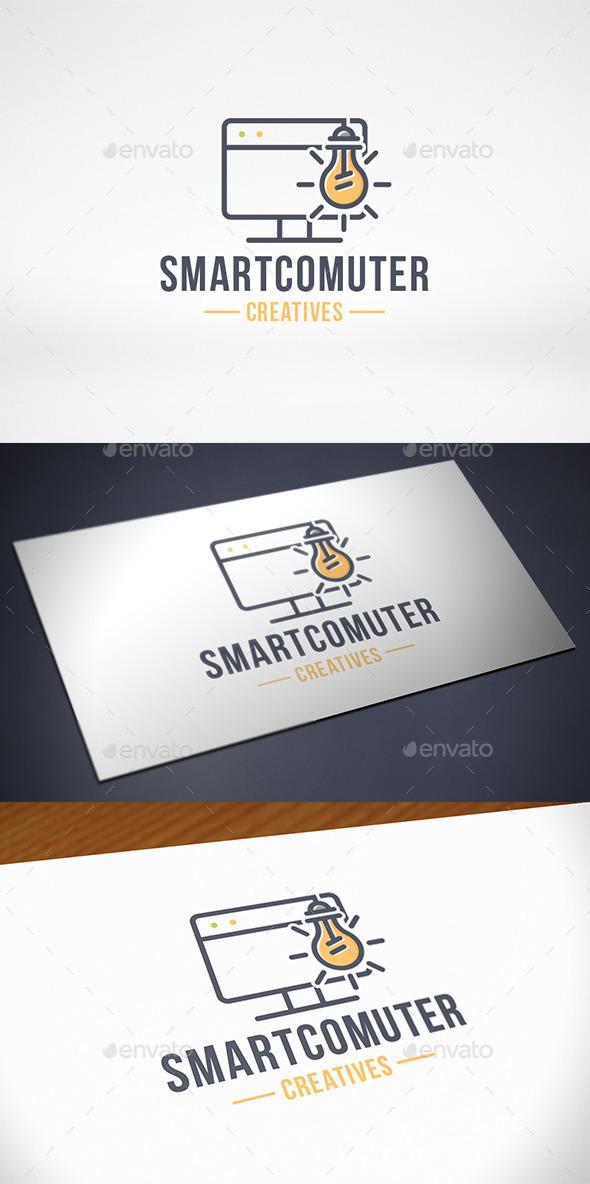 Computer Idea Logo Template