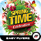 Spring Celebration Flyer Template - GraphicRiver Item for Sale