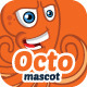 Octopus Mascot - GraphicRiver Item for Sale