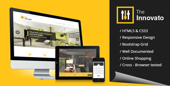 Innovato Professional HTML5 Template