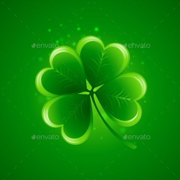 Clover Leaf Saint Patricks Day