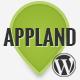 AppLand - Parallax App Landing Wordpress Theme - ThemeForest Item for Sale