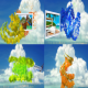 Tropical Particles - VideoHive Item for Sale
