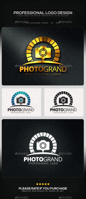Photo Grand Logo Template
