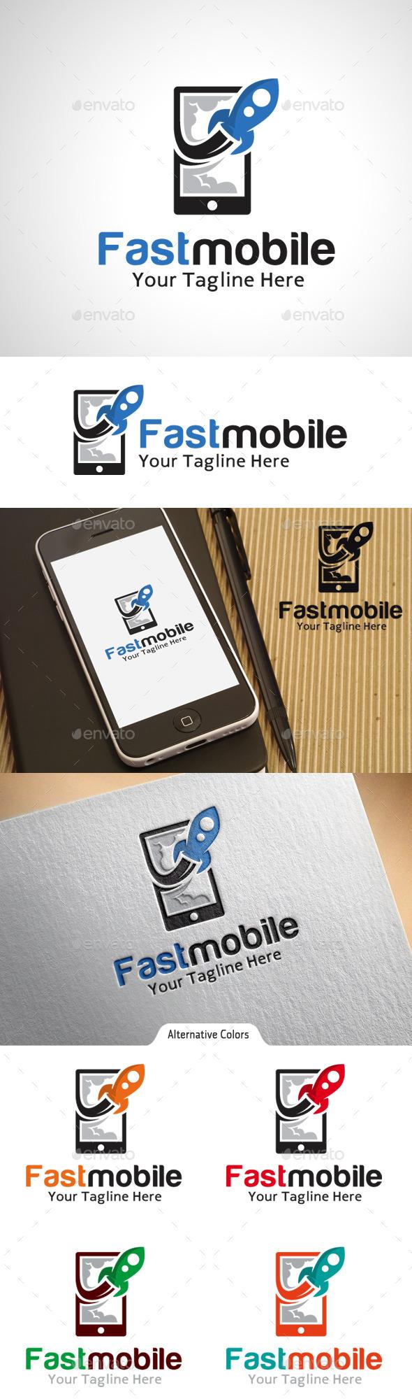 Fast Mobile Logo