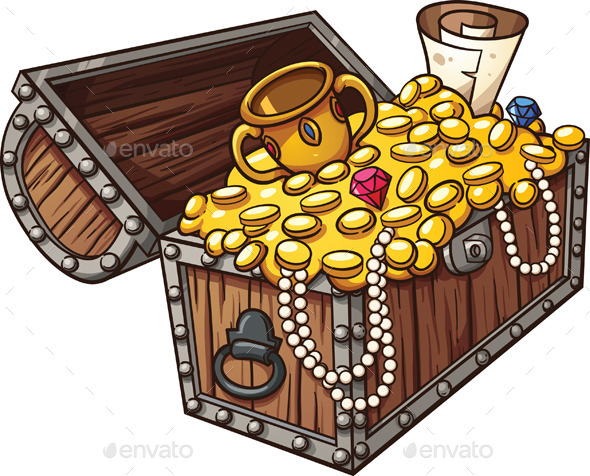 image about Printable Treasure Chests identify Treasure Upper body Graphics, Programs Templates versus GraphicRiver