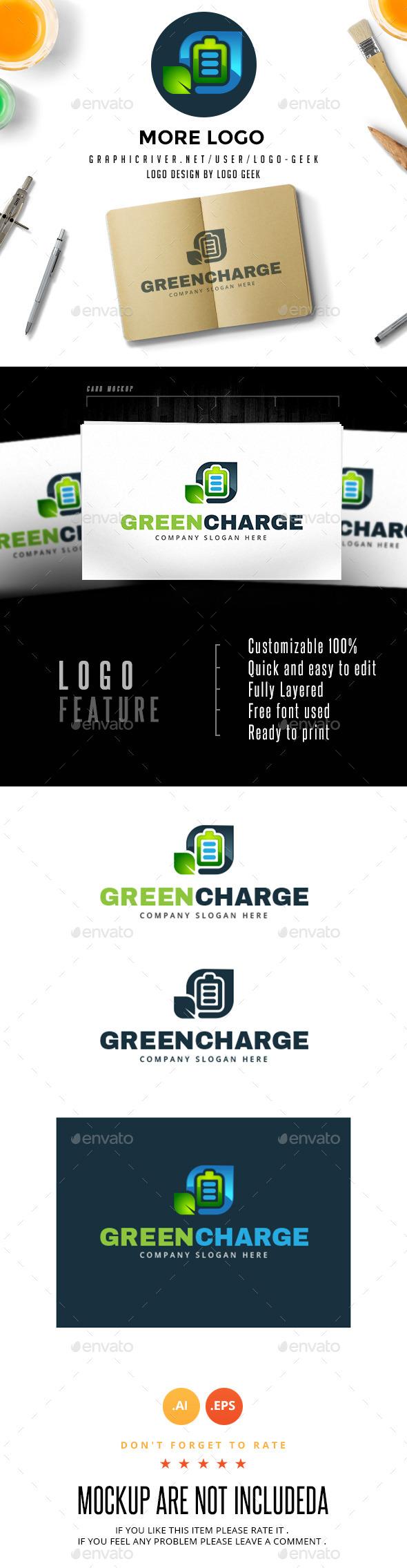 Green Charge Logo