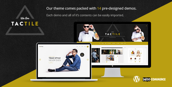 Tactile - Multipurpose Theme