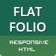 FLATFOLIO - Premium Portfolio & Agency HTML Theme - ThemeForest Item for Sale