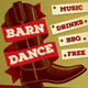 Country Music Barn Dance Poster, Flyer or Ad - GraphicRiver Item for Sale
