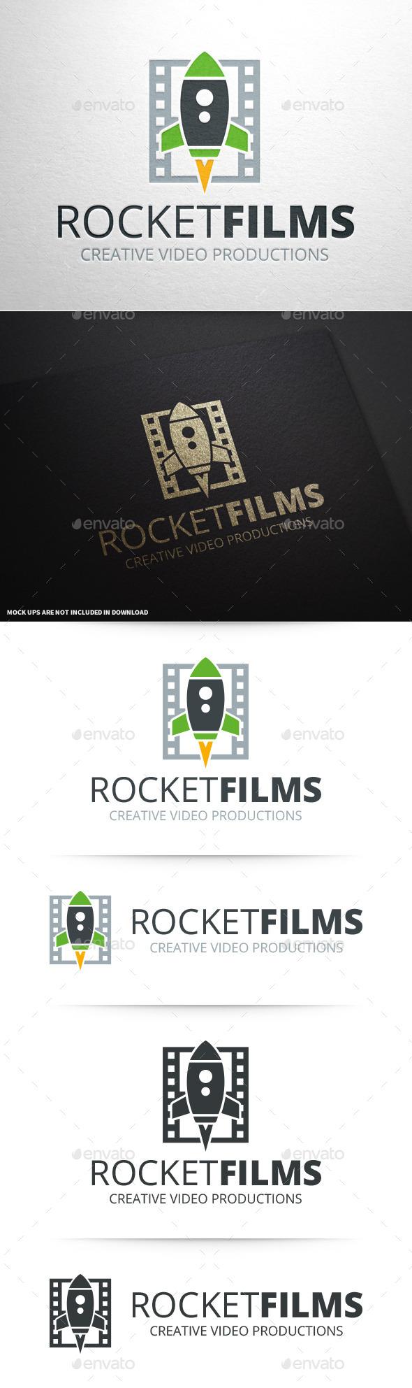 Rocket Films Logo Template