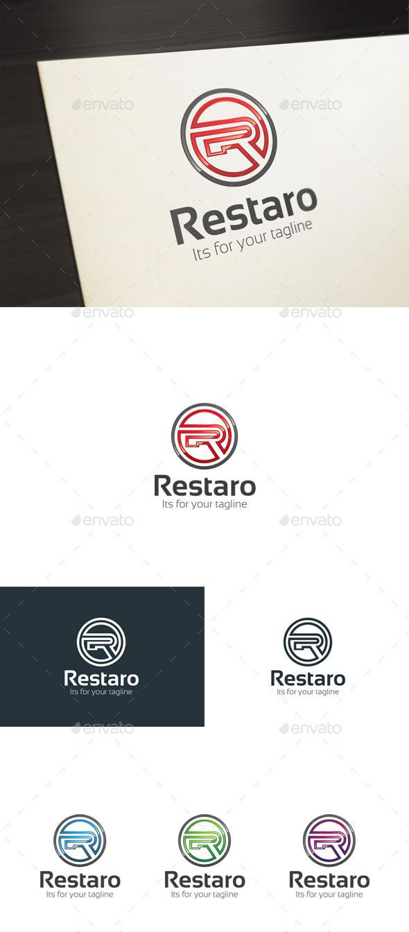 Restaro, R Letter Logo