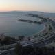 Coastal Avenue During Nightfall - VideoHive Item for Sale