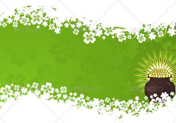St. Patrick Day frame