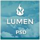 Lumen - Multi-purpose PSD Template - ThemeForest Item for Sale