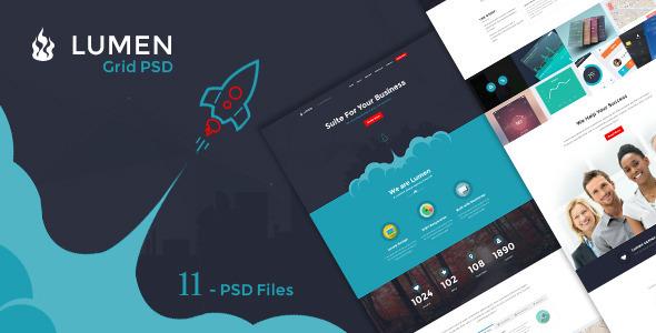 Lumen - Multi-purpose PSD Template