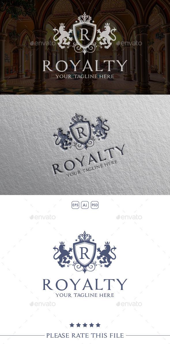 Royalty Lion Logo