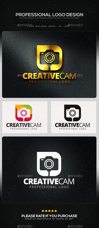Creative Cam Logo Template