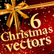 6 Christmas Vectors - GraphicRiver Item for Sale